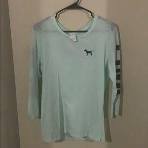 Spirit jersey style light blue VS Pink shirt